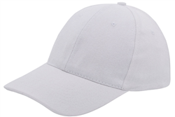 Brushed 6-panel Twill Cap